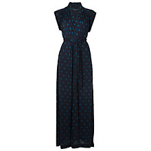 Buy French Connection Nightsky Star Maxi Dress, Utility Blue/Cel Blue Online at johnlewis.com