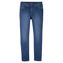 Buy Violeta by Mango Slim Fit Silvia Jeans, Open Blue Online at johnlewis.com