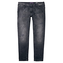 Buy Violeta by Mango Boyfriend Laura Jeans, Open Grey Online at johnlewis.com