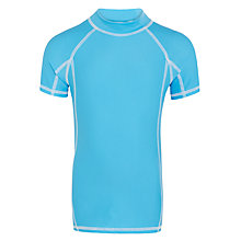 Buy John Lewis Boys' Rash Vest, Blue Online at johnlewis.com
