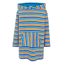 Buy John Lewis Boys' Multi Stripe Poncho, Multi Online at johnlewis.com