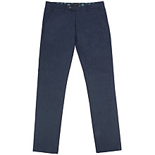 Buy Ted Baker Lommy Classic Fit Brushed Cotton Trousers Online at johnlewis.com
