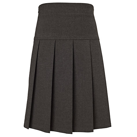 buy tiffin school pleated skirt grey lewis