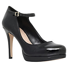 Buy Carvela Adele Patent Leather Mary Jane Court Shoes, Black Online at johnlewis.com