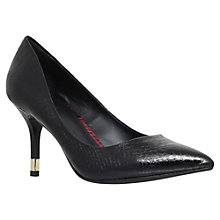 Buy KG by Kurt Geiger Evie Mid Heeled Stiletto Court Shoes, Black Online at johnlewis.com