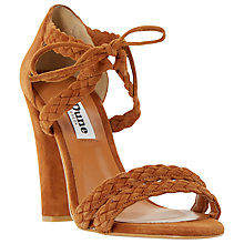 Buy Dune Marlee Plaited Strap High Heel Sandal Online at johnlewis.com