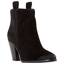 Buy Dune Peridot Side Tab Suede Ankle Boot Online at johnlewis.com