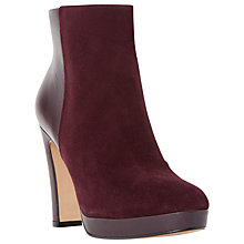 Buy Dune Olympe Block Heel Ankle Boot Online at johnlewis.com
