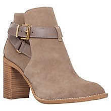 Buy KG by Kurt Geiger Scarlett Buckled Suede Ankle Boots Online at johnlewis.com