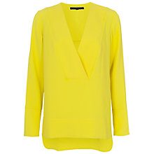 Buy French Connection Arrow Crepe Top Online at johnlewis.com