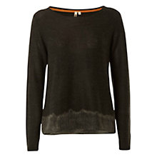 Buy White Stuff Take Flight Jumper, Stone Grey Online at johnlewis.com
