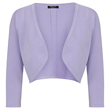 Buy Precis Petite Pointelle Shrug, Lilac Online at johnlewis.com