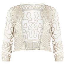 Buy Windsmoor Cornelli Lace Jacket, Oyster Online at johnlewis.com