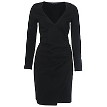 Buy French Connection Lula Stretch Zip Detail Dress Online at johnlewis.com