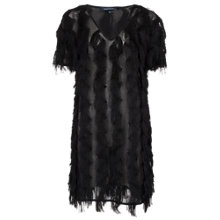 Buy French Connection Tassel Valley Dress, Black Online at johnlewis.com