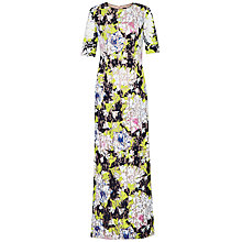 Buy French Connection Botanical Tropical Trip Maxi Dress, Acid Blonde Online at johnlewis.com