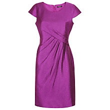 Buy Precis Petite Crinkle Shift Dress, Pink Online at johnlewis.com