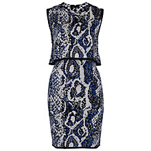 Buy French Connection Spotlight Boa Layer Dress Online at johnlewis.com