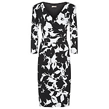 Buy Planet Orchard Bloom Print Dress, Black/White Online at johnlewis.com