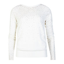 Buy Ted Baker Sapphir Crystal Stud Jumper Online at johnlewis.com