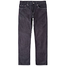 Buy BOSS Maine Straight Jeans, Navy Online at johnlewis.com