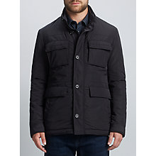 Buy BOSS Calasso Field Jacket, Dark Blue Online at johnlewis.com