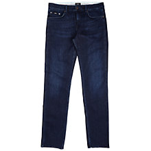 Buy BOSS Delaware 2 Slim Jeans, Navy Online at johnlewis.com