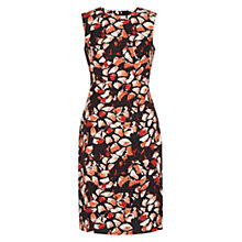 Buy Hobbs Penrose Shift Dress, Black/Multi Online at johnlewis.com