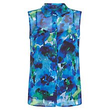 Buy Hobbs Liberton Top, Ink Multi Online at johnlewis.com