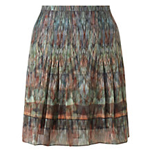 Buy Jigsaw Kaleidoscope Silk Skirt, Multi Online at johnlewis.com