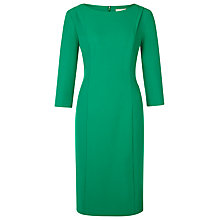 Buy Planet Textured Crepe Dress, Mid Green Online at johnlewis.com