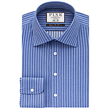 Buy Thomas Pink Gibson Slim Fit Stripe Shirt Online at johnlewis.com