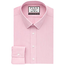 Buy Thomas Pink Herland Stripe Super Slim Shirt, Pink/White Online at johnlewis.com