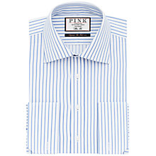 Buy Thomas Pink Gibson Double Cuff Stripe Shirt Online at johnlewis.com