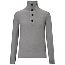 Buy BOSS Orange Amaren Button Jumper Online at johnlewis.com