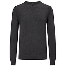 Buy BOSS Orange Albinon Jumper, Charcoal Online at johnlewis.com