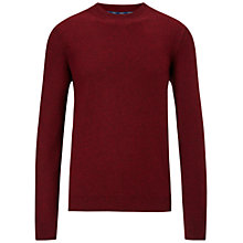 Buy BOSS Orange Acesto Lambswool Crew Neck Jumper Online at johnlewis.com