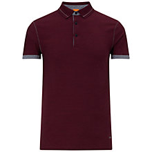 Buy BOSS Orange Patcherman Polo Shirt, Red Online at johnlewis.com