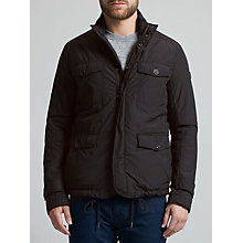 Buy BOSS Orange Orgent 4 Pocket Field Jacket, Black Online at johnlewis.com