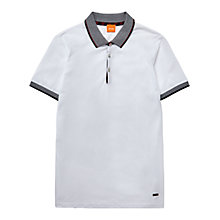 Buy BOSS Orange Pejo 1 Regular Fit Polo Shirt Online at johnlewis.com