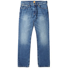 Buy BOSS Orange Orange24 Regular Fit Jeans, Medium Blue Online at johnlewis.com