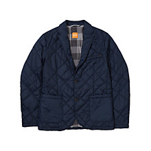 Buy BOSS Orange Padded Blazer, Dark Blue Online at johnlewis.com