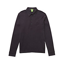 Buy BOSS Green Long Sleeve Polo Shirt Online at johnlewis.com