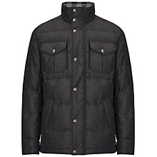 Buy BOSS Orange Ogaile Chambray Rib Jacket, Charcoal Online at johnlewis.com