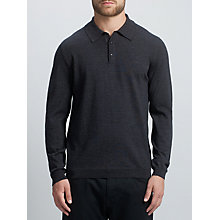 Buy BOSS Green C-Camus Wool Button Jumper Online at johnlewis.com
