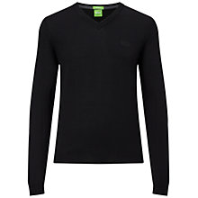Buy BOSS Green Callum Merino Logo Jumper Online at johnlewis.com