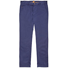 Buy BOSS Orange Schino-Slim 1-D Stretch Stretch Trousers Online at johnlewis.com