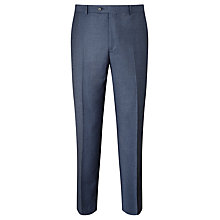Buy Paul Costelloe Super 110s Wool Flannel Modern Fit Suit Trousers, Airforce Online at johnlewis.com