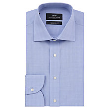 Buy Paul Costelloe Graph Check Modern Fit Shirt, Blue Online at johnlewis.com