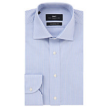 Buy Paul Costelloe Oxford Stripe Modern Fit Shirt, Blue Online at johnlewis.com
